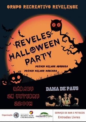 Reveles Halloween Party | Grupo Recreativo Revelense | Reveles