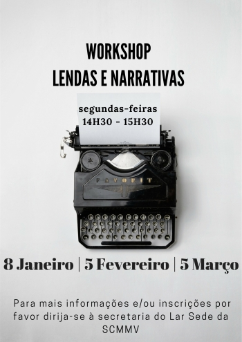 Workshop de Lendas e Narrativas | SeniorMor